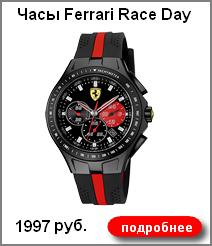 Часы мужские Ferrari Race Day 1997 руб.