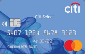 """Ситибанк Кредитная Карта """"Select"""""""
