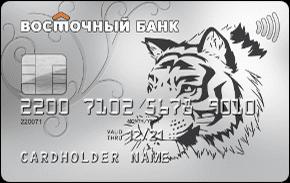 """Восточный Банк Кредитная Карта """"90 дней без %"""""""